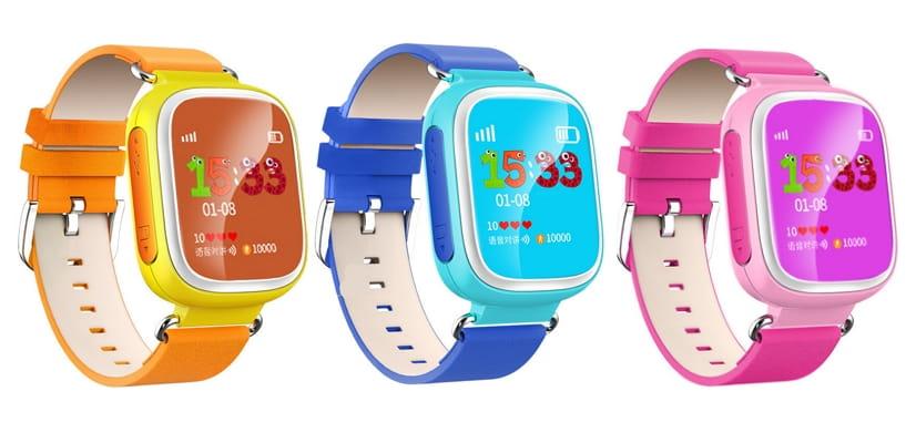 Детские умные часы Smart Watch Q60S – розовые - Электроника для детей