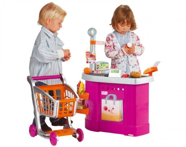 Купить Супермаркет с тележкой и аксессуарами Ecoiffier в интернет магазине игрушек и детских товаров