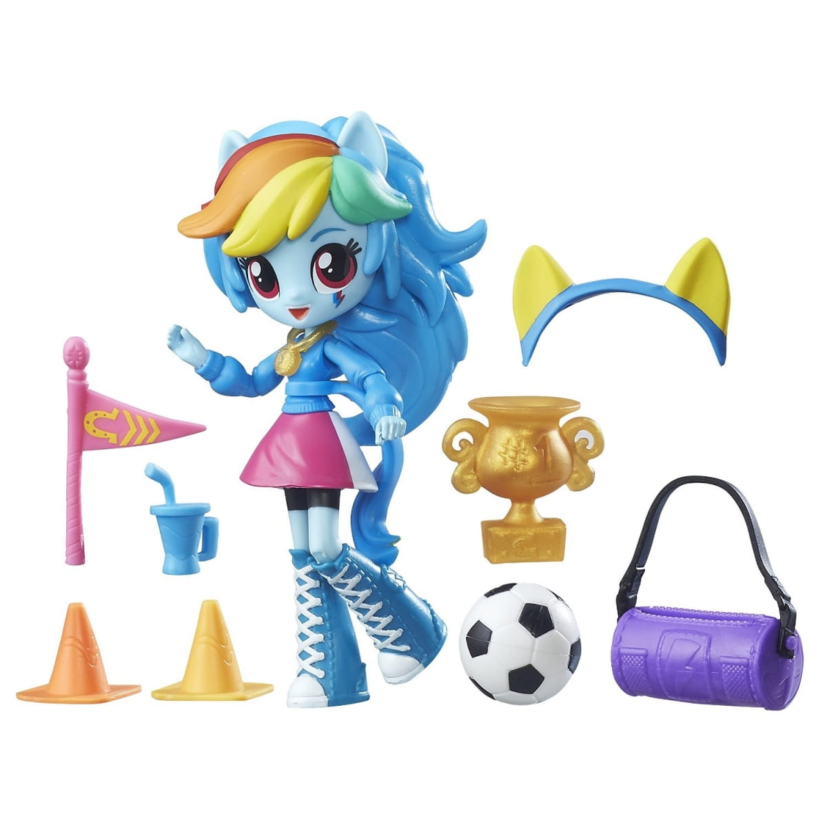 Игровой набор My Little Pony Equestria Girls Рэйнбоу Дэш Rainbow Dash (Hasbro) - My Little Pony