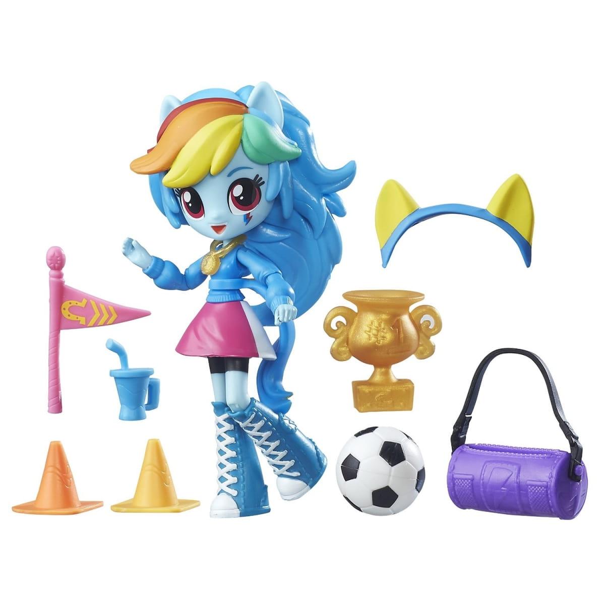 Игровой набор My Little Pony Equestria Girls Рэйнбоу Дэш Rainbow Dash (HASBRO) - My Little Pony