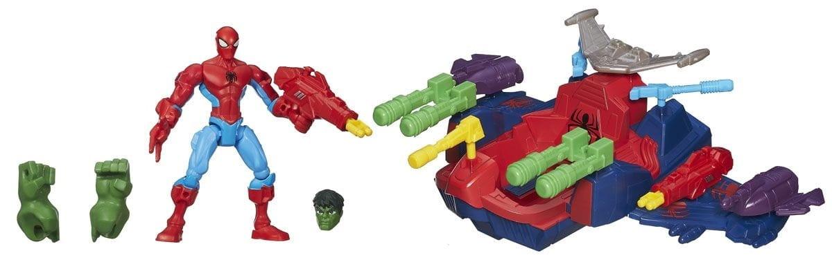 Игровой набор Avengers Летательный смаш-джет (HASBRO) - Супергерои Марвел