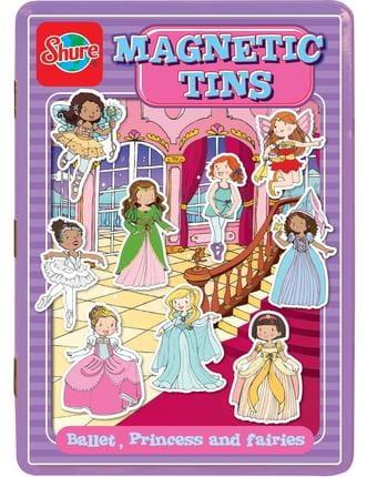 Игровой набор на магнитах Shure 4064 Принцессы, балерины и феи