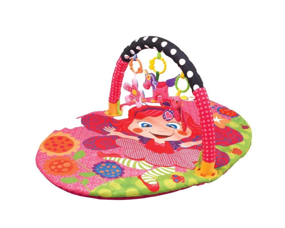 Развивающий коврик Ути Пути Цветочная принцесса (с дугой)