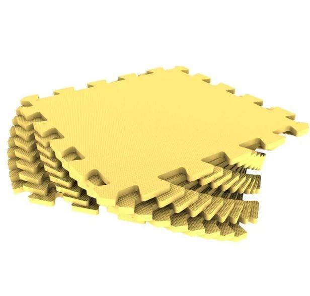Коврик-пазл Экопромторг - желтый