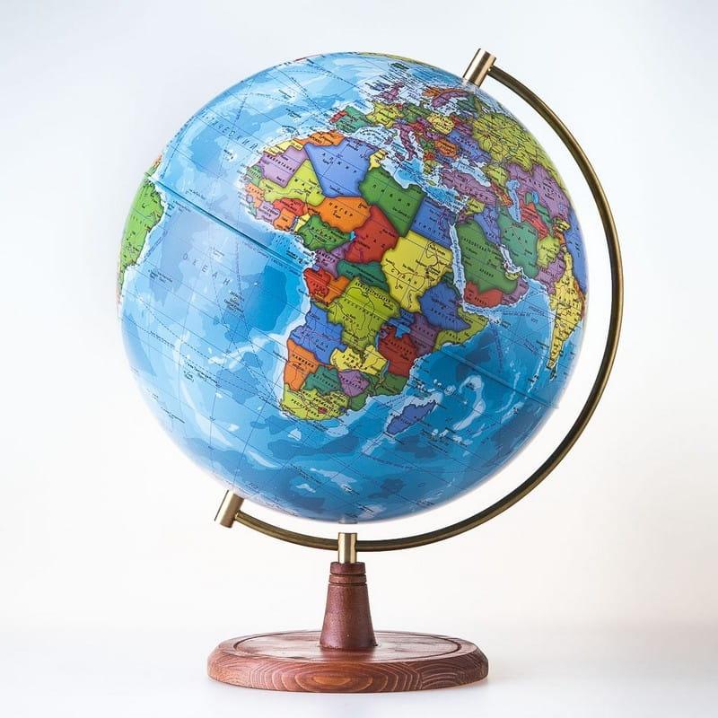 Глобус Земли GLOBEN политический Элеганс - 25 см