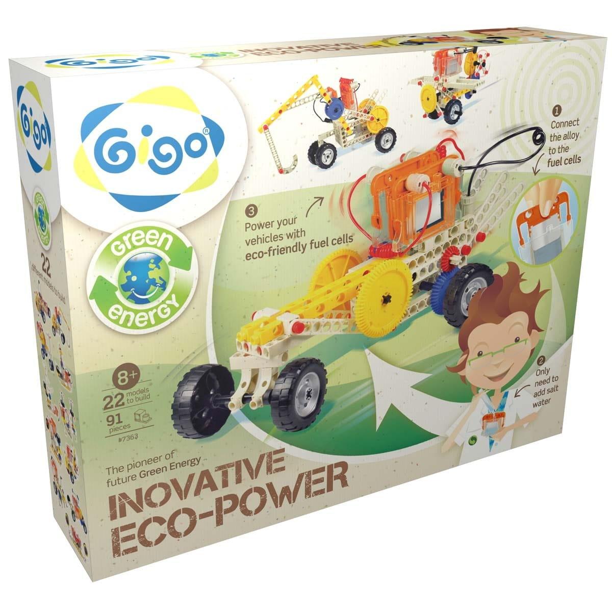Конструктор Gigo Eco power Энергия соли - Наборы для опытов