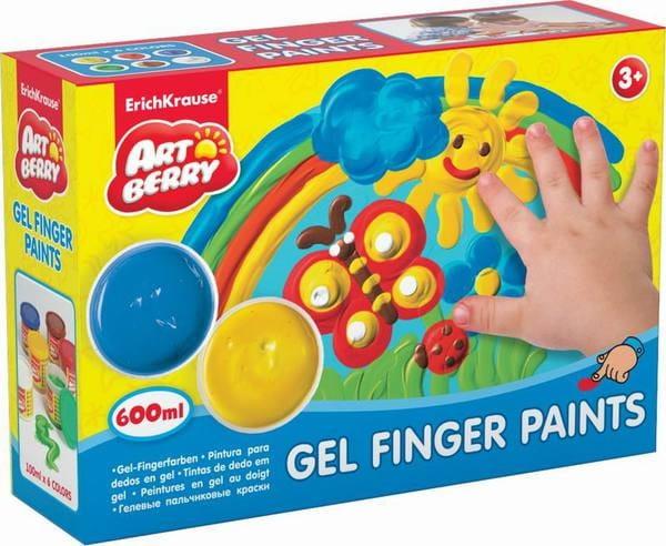 Набор пальчиковых красок Artberry - 6 баночек (ErichKrause)
