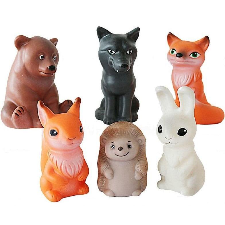 Игровой набор ВЕСНА Животные леса  5 штук - Фигурки животных