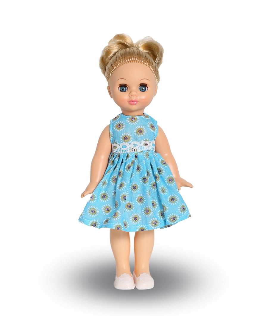 Кукла ВЕСНА Эля в голубом платье - 30,5 см