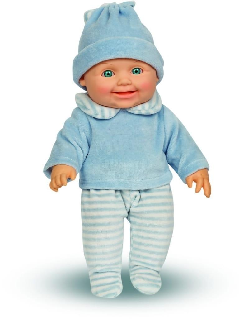 Кукла ВЕСНА Малыш в голубом костюме - 30 см