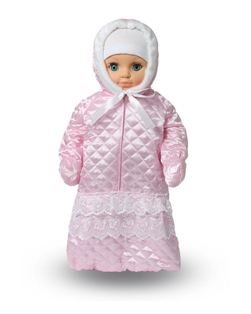 Кукла ВЕСНА Пупс в розовом конверте - 42 см