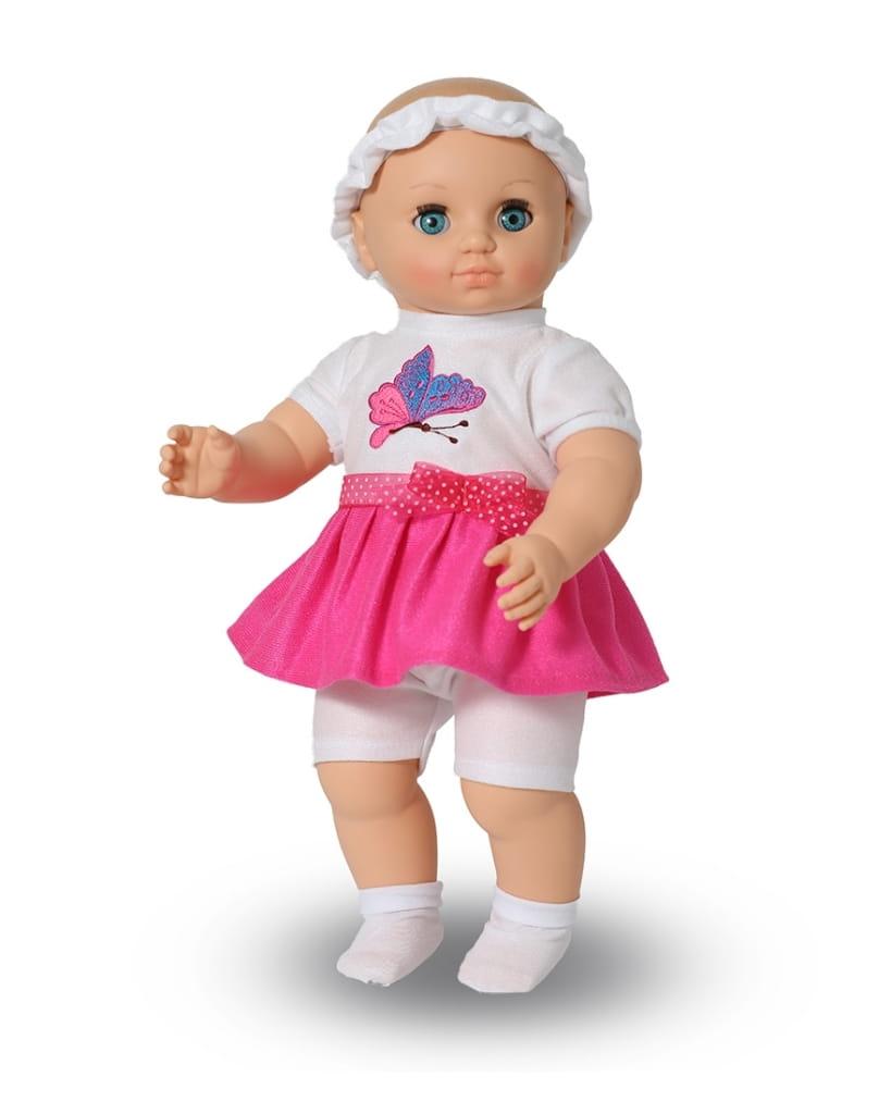 Кукла ВЕСНА Пупс - 42 см (в платье, шортах, носочках и ободке)