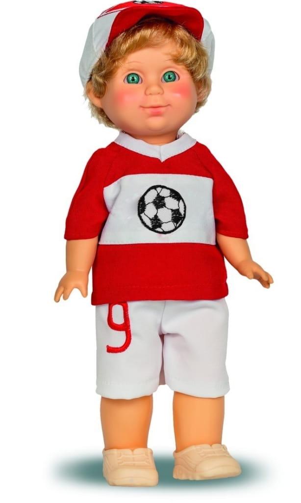 Кукла ВЕСНА Митя Футболист - 34 см (со звуком)
