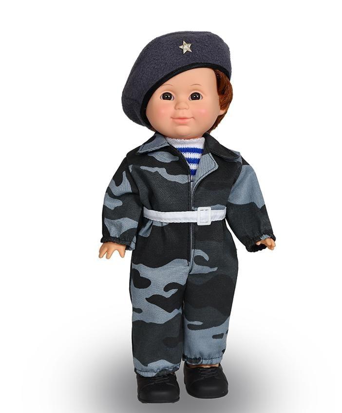 Кукла ВЕСНА Митя Военный - 34 см (со звуком)