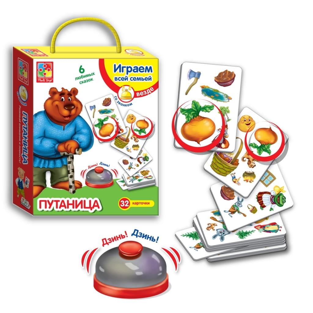 Игра Vladi Toys VT2103-03 Путаница со звонком