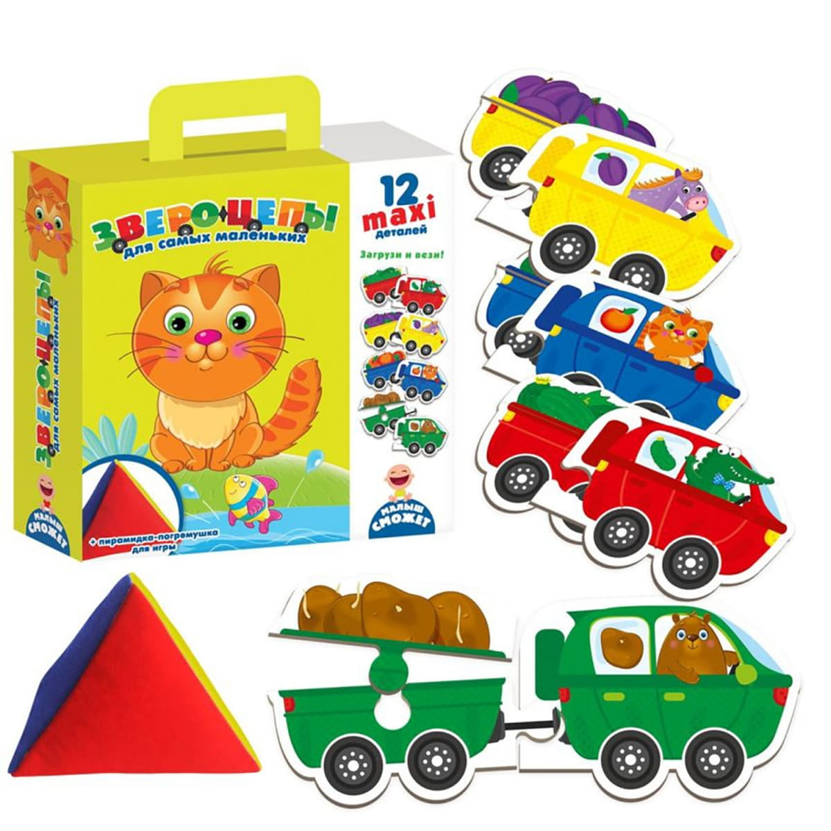Набор Vladi Toys VT2906-05 Звероцепы
