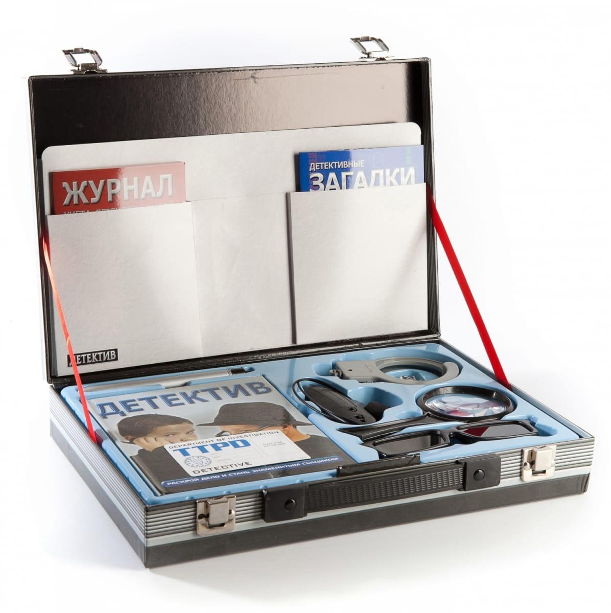 Игровой набор Новый формат Чемодан детектива - Игровые наборы для мальчиков