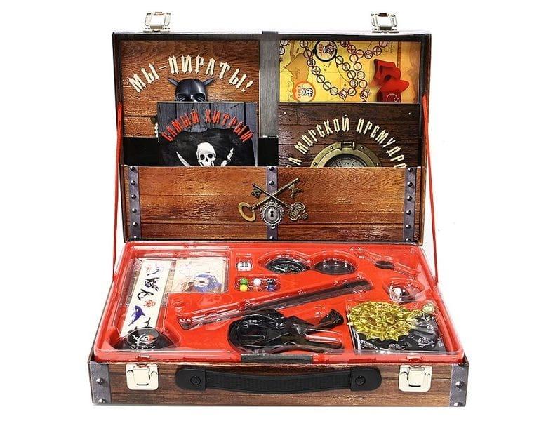 Игровой набор Новый формат Сундук пирата - Игровые наборы для мальчиков