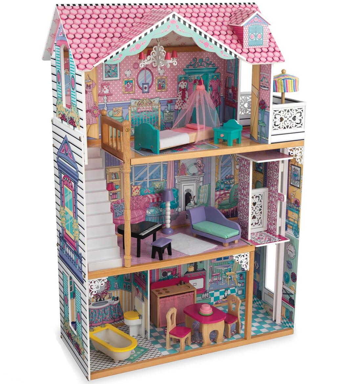 Кукольный домик с мебелью для Барби KidKraft Анабель
