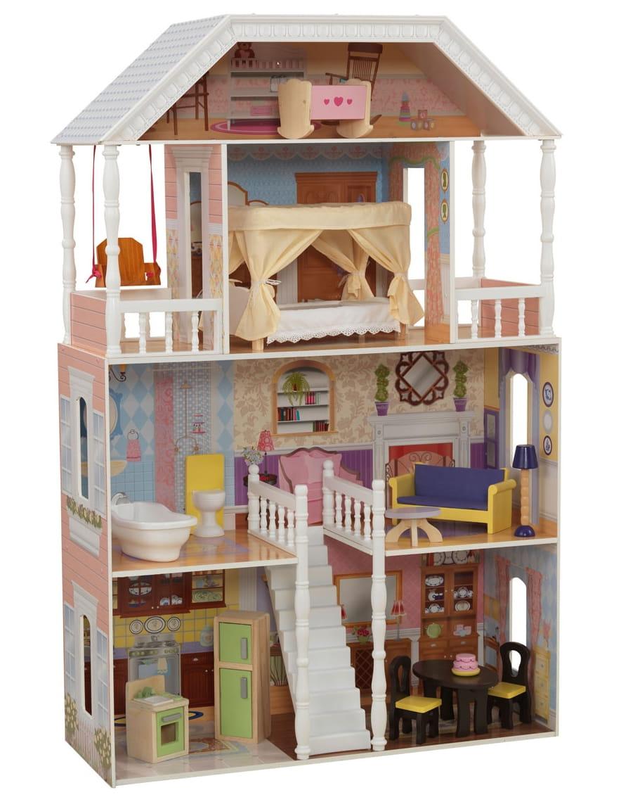 Кукольный домик с мебелью KIDKRAFT Саванна