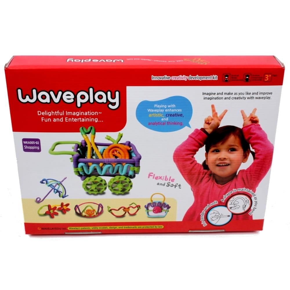 Гибкий конструктор Waveplay Shopping