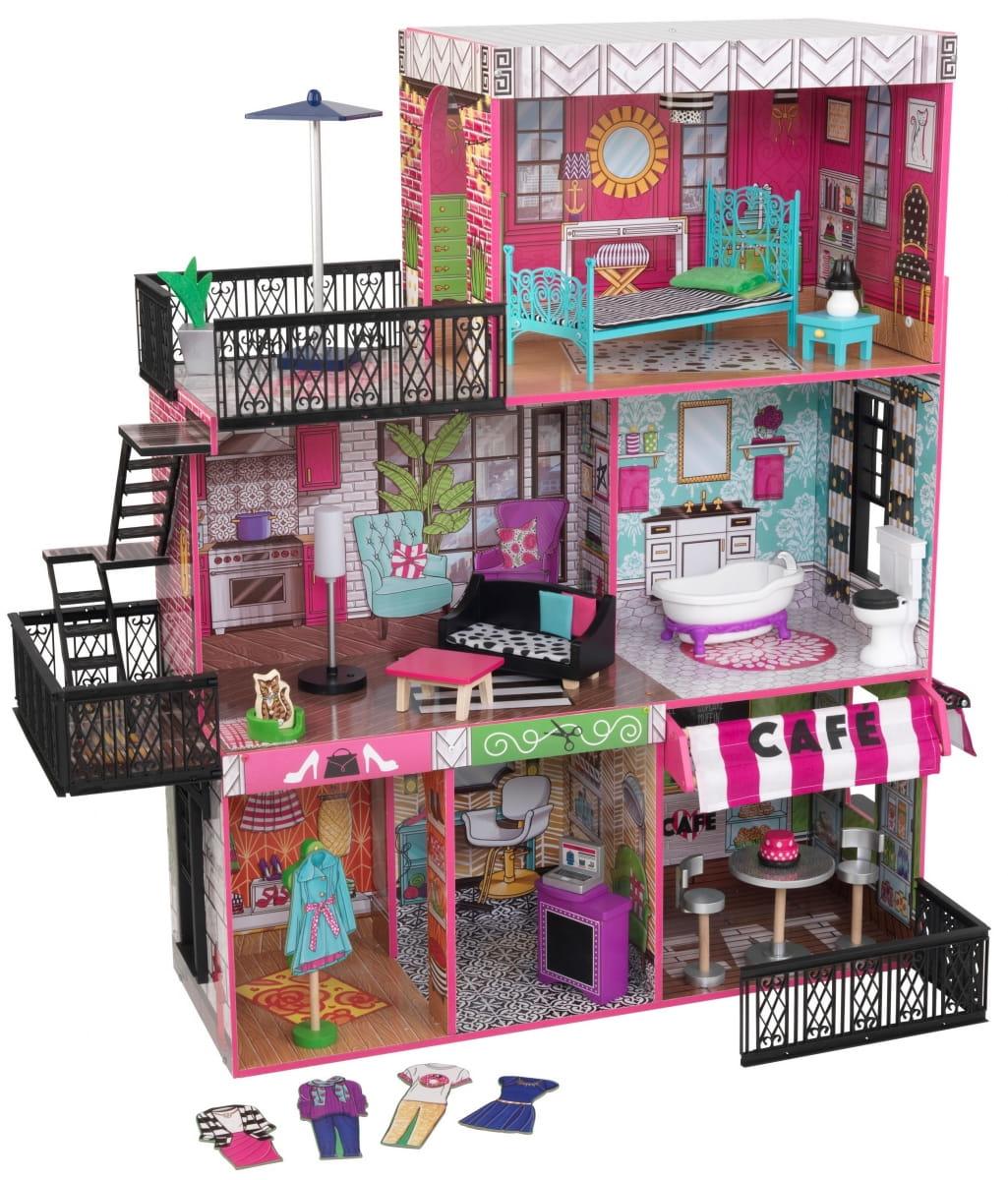 Кукольный домик с мебелью KidKraft Бруклинский Лофт