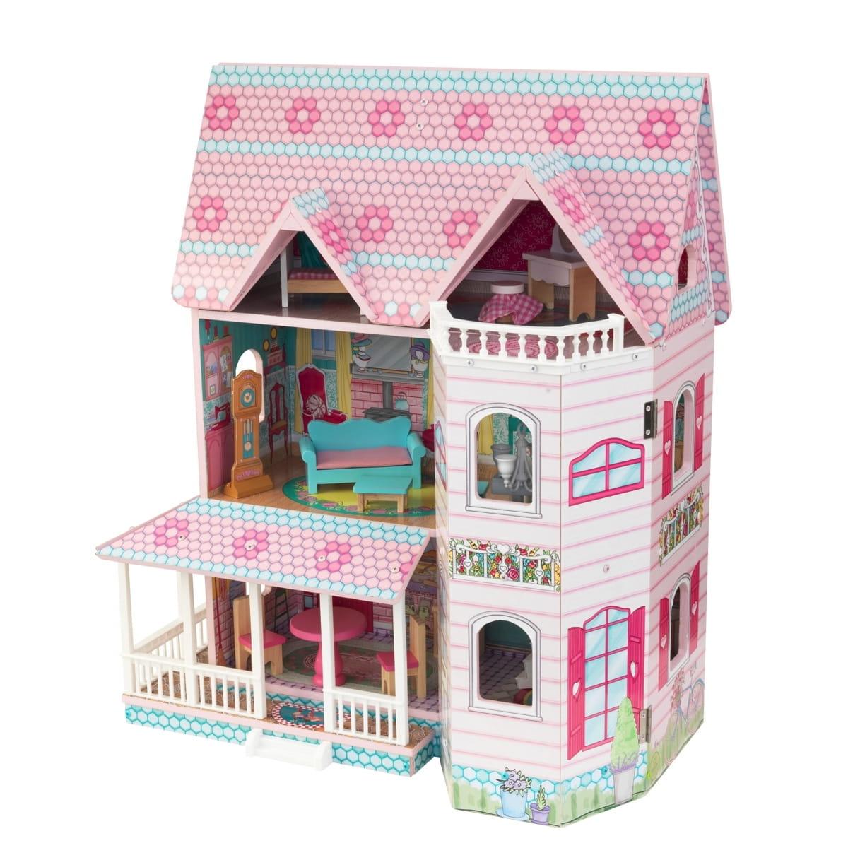 Кукольный домик с мебелью KIDKRAFT Особняк Эбби