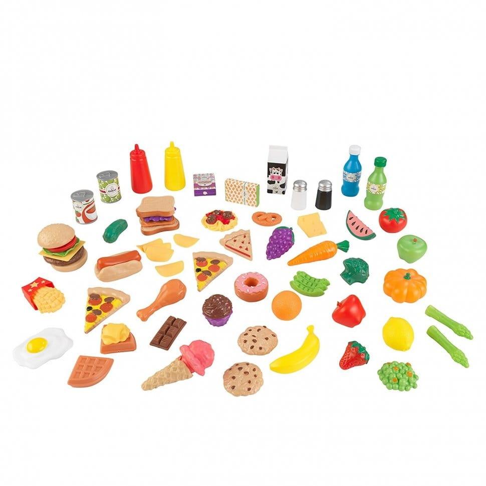 Набор еды KidKraft Вкусное удовольствие  65 элементов - Все для юной хозяйки