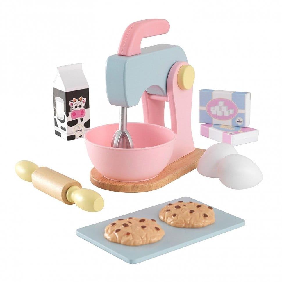 Игровой набор KidKraft Pastel Миксер Пастель для выпечки - Все для юной хозяйки