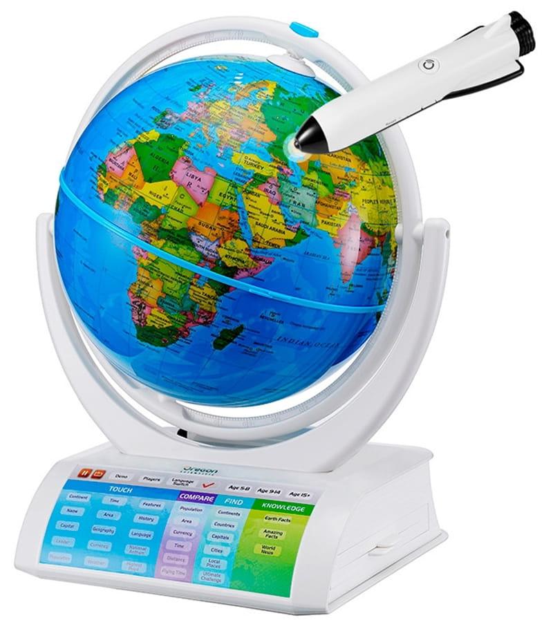 Интерактивный глобус SMART GLOBE Oregon Scientific Explorer AR - Интерактивные глобусы