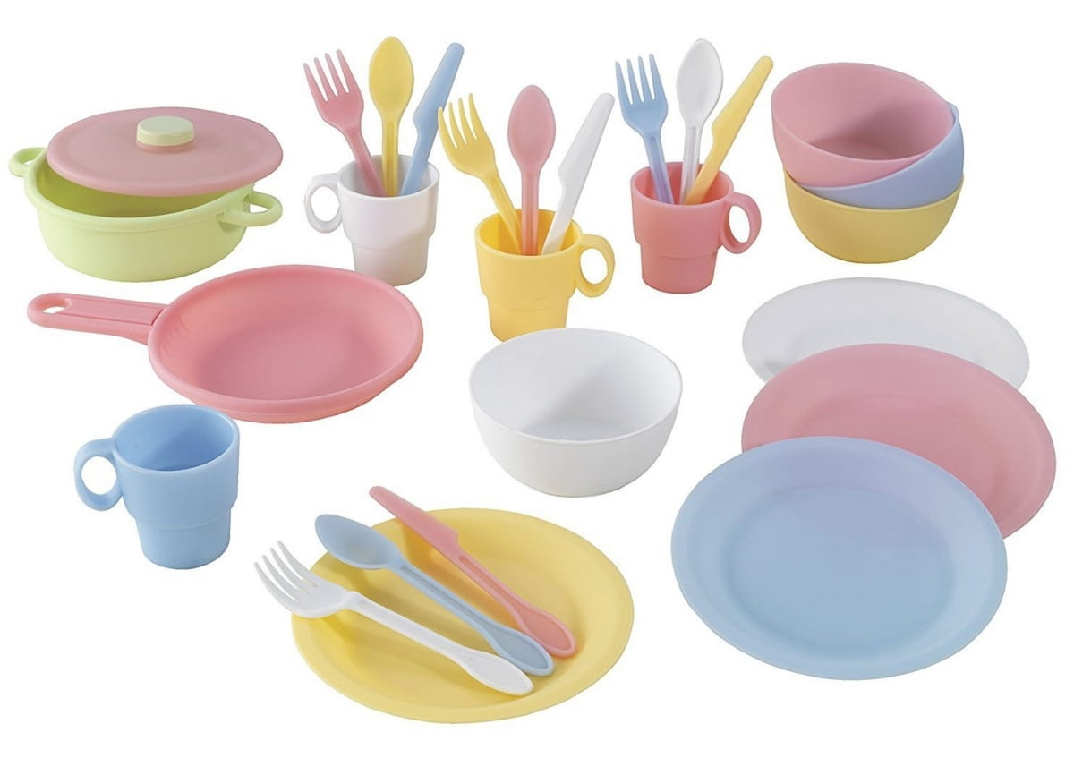 Набор посуды KidKraft 63027 Пастель Pastel