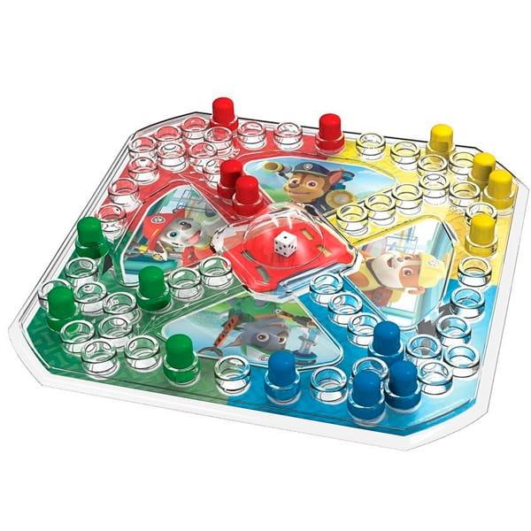 Игровой набор 2 в 1 Paw Patrol Щенячий Патруль Игра с кубиком и фишками и карточки Memory (Spin Master)