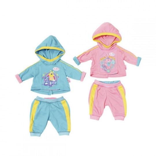 Одежда BABY BORN Спортивный костюмчик - 43 см (Zapf Creation)