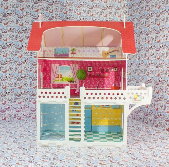 Кукольный домик БЕЛЬЧИК малый