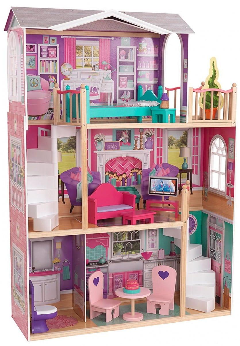 Кукольный домик с мебелью KIDKRAFT Делюкс Deluxe