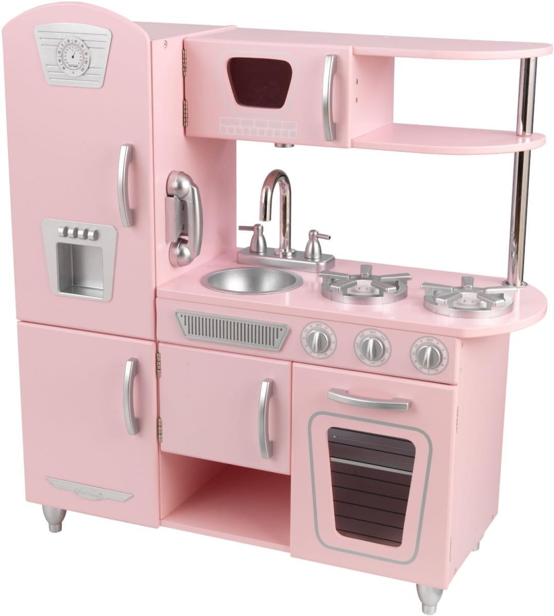 Детская кухня Kidkraft Винтаж Vintage (розовая)