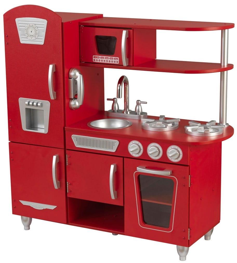 Детская кухня Kidkraft Винтаж Vintage (красная)