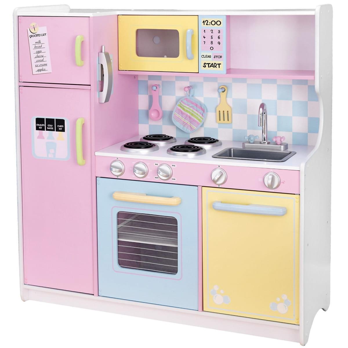 Детская кухня KIDKRAFT Пастель Pastel