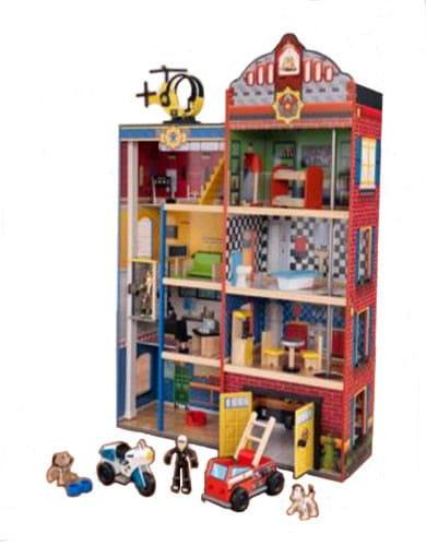 Купить Игровой комплекс Kidkraft Герои нашего городка в интернет магазине игрушек и детских товаров