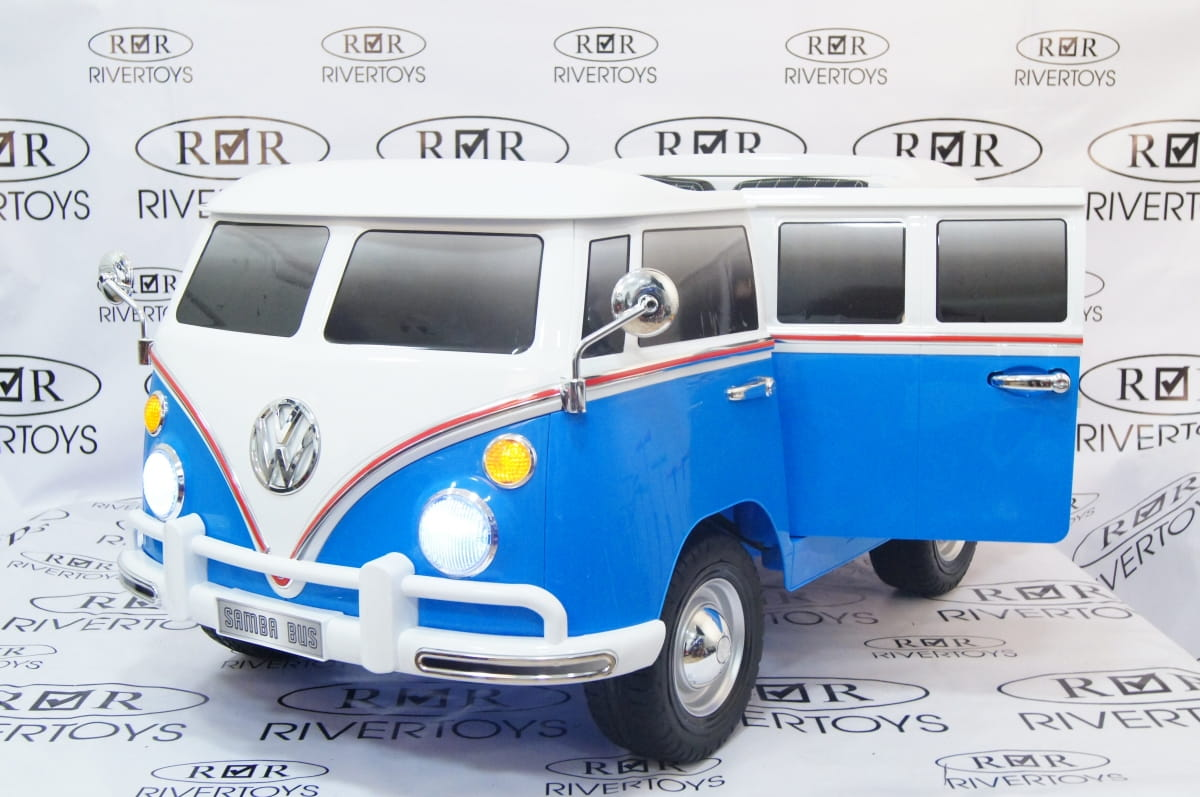 Двухместный электромобиль River Toys Volkswagen X444XX - Электромобили