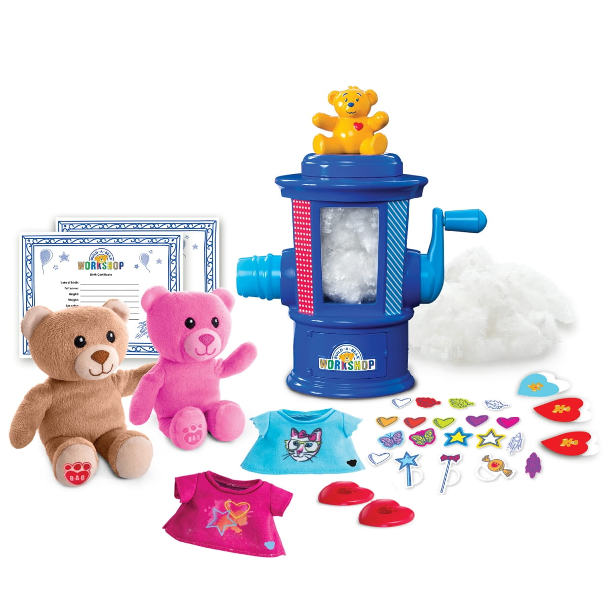 Набор Build-a-Bear Студия мягкой игрушки (Spin Master) - Все для юной хозяйки
