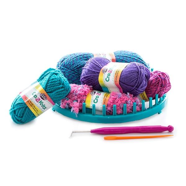 Набор для вязания Cra-z-knitz Шапка - Все для юной хозяйки