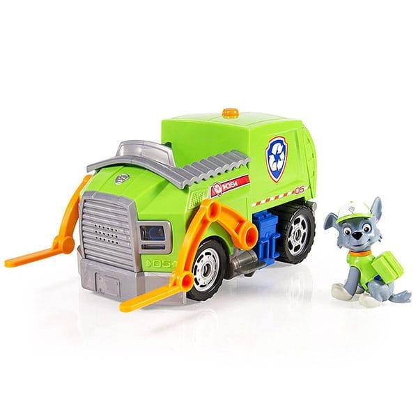 Игровой набор Paw Patrol Щенячий патруль Машина спасателей  Рокки (со звуком и светом) - Щенячий патруль