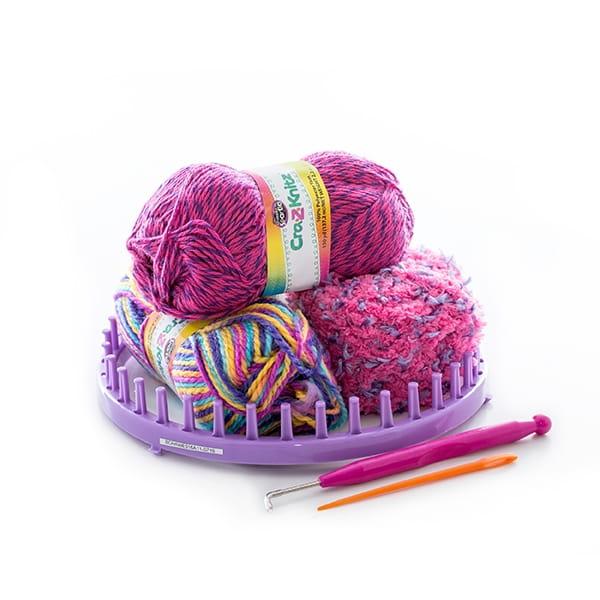 набор для вязания Cra Z Knitz стильная шапка колпак купить по