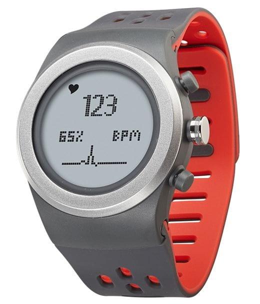 Умные часы LifeTrak R420 (серо-красные)