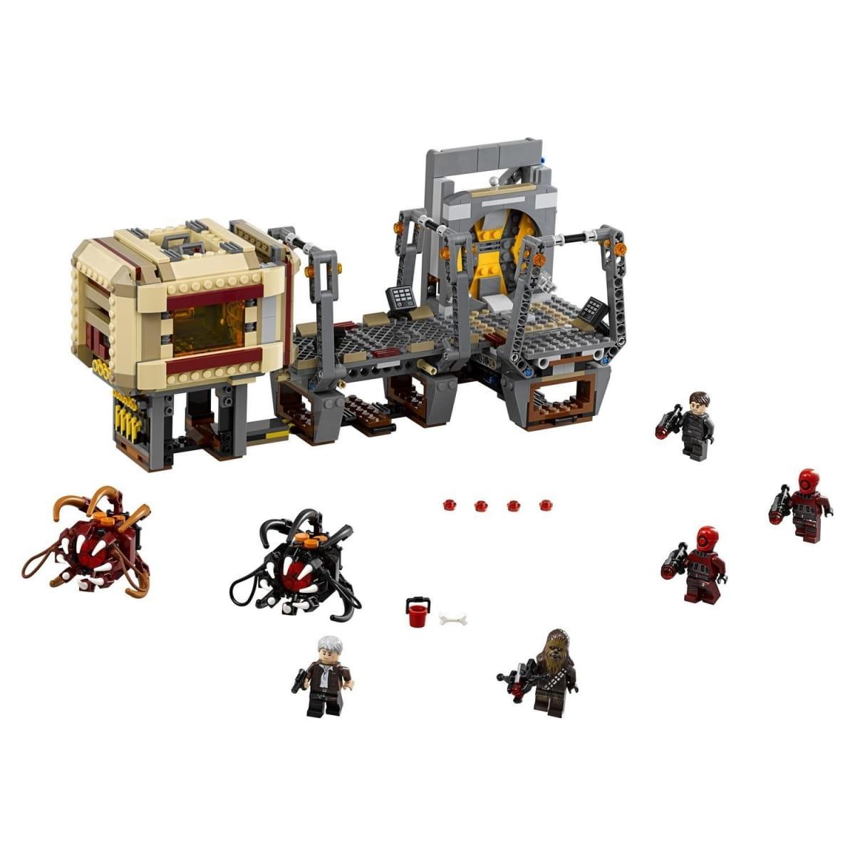 Конструктор Lego Star Wars Лего Звездные войны Побег Рафтара