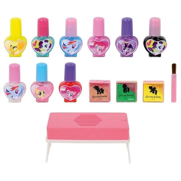 Игровой набор детской декоративной косметики для ногтей Markwins My Little Pony