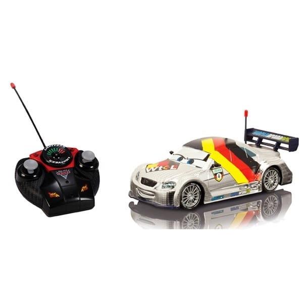 Радиоуправляемый автомобиль Тачки Макс Шнель 1:24  серебристый (Dickie) - Радиоуправляемые игрушки