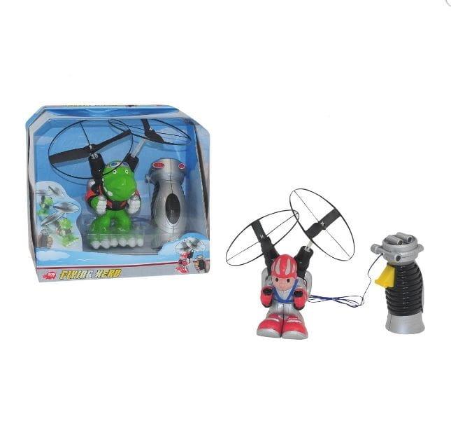 Летающий герой на дистанционном управлении Dickie  15 см - Радиоуправляемые игрушки