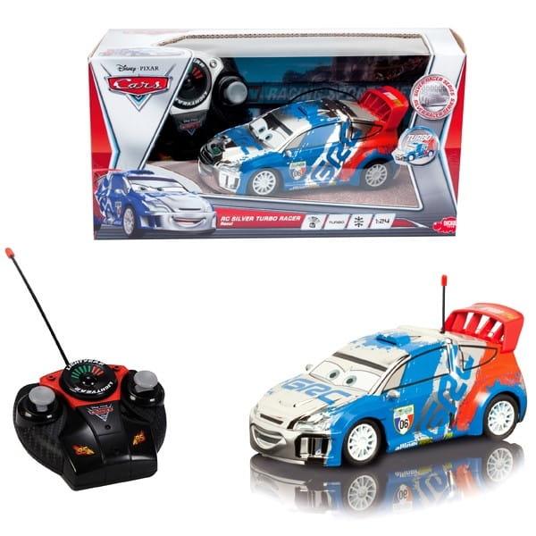 Радиоуправляемый автомобиль Dickie Рауль 1:24  серебристый - Радиоуправляемые игрушки